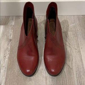 ROCKPORT ankle boots - Dark Red